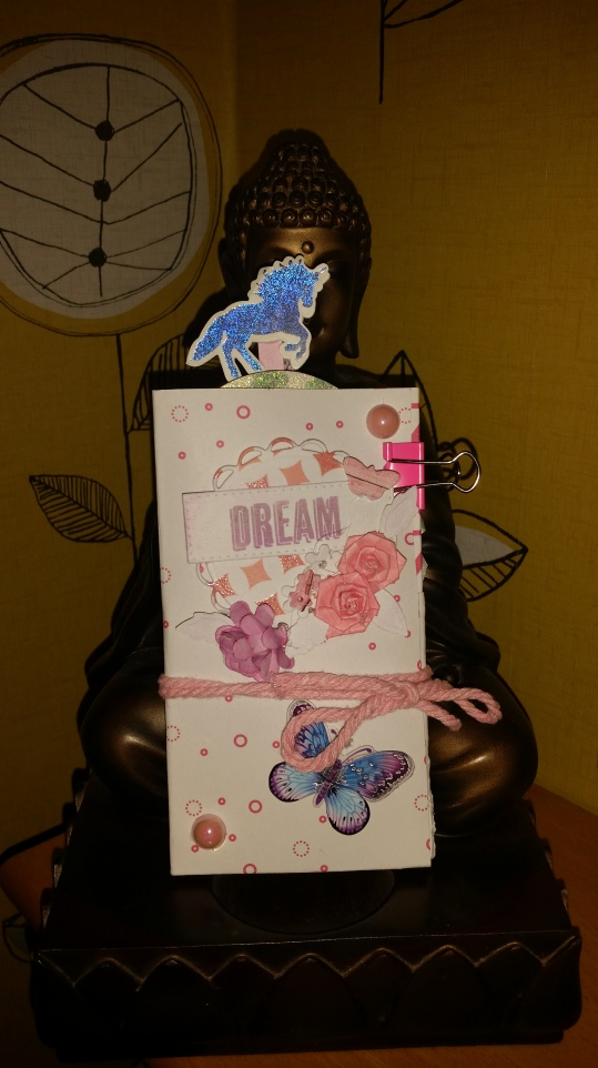 Mini #flipbook #rak #dream #butterfly #floral #shabbychic