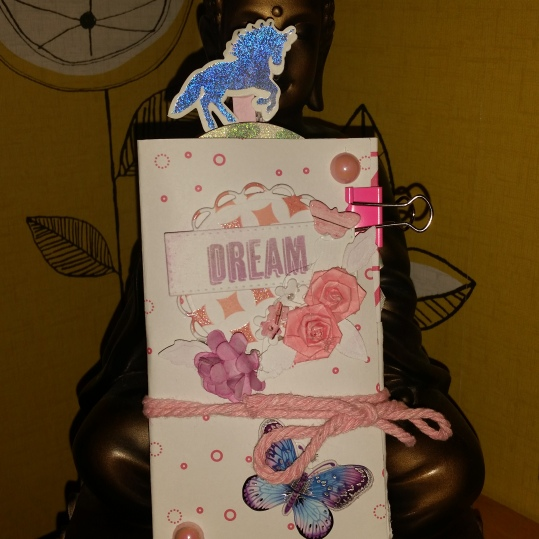Mini #flipbook #rak #dream #butterfly #floral #shabbychic