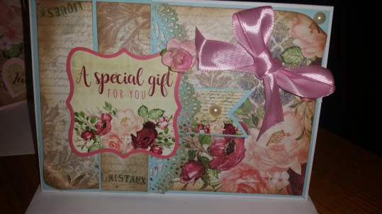 Crafters Companion Subscription Craft Box #1 Card 1