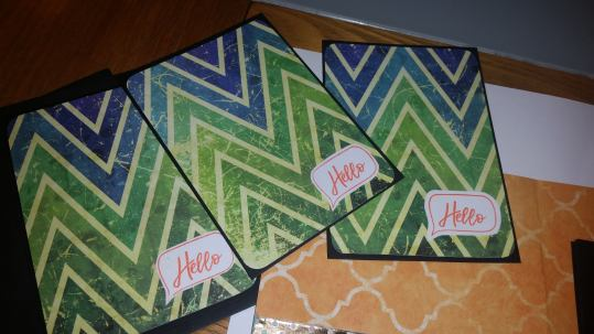gorgeous #abstract design pack of 6 #notelets #papercrafting