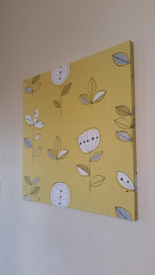 #Upcycled #canvas #homedecor