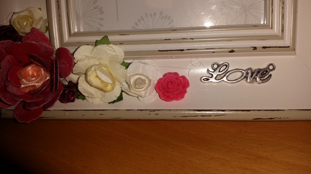 Mrs and Mrs Upcycled Frame #weddinggift #samesexmarriage #MrandMr