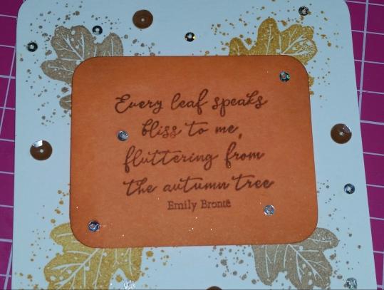 #autumn #autumnal #handmadecard #rak #papercrafter