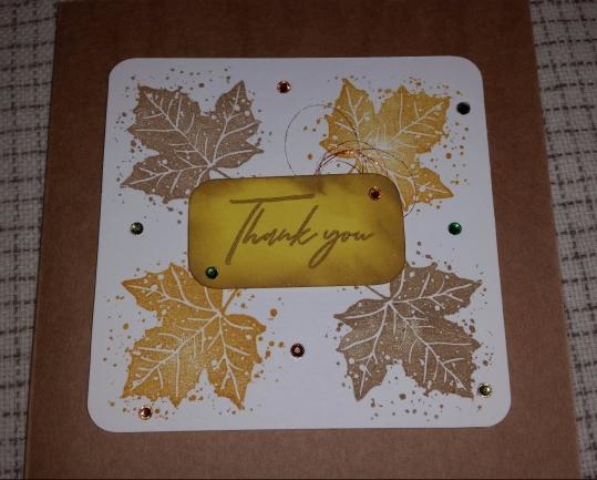 #Autumnal #handmadecard #rak #papercrafter
