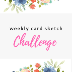 card sketch challenge